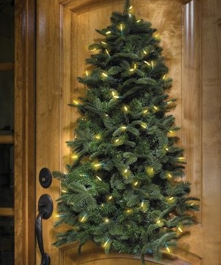 The Hanging Cordless Lighted Tree