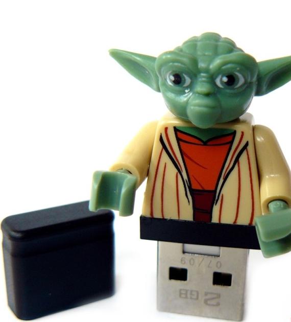 Memory Stick in a original Lego Figure
