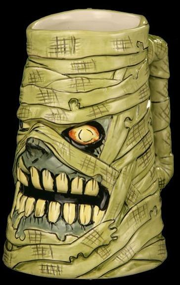 monster mummy mug
