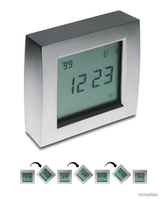 Rotation world clock