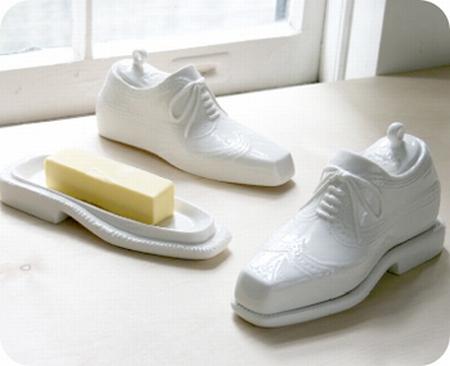Jonathan Adler shoe butter dish