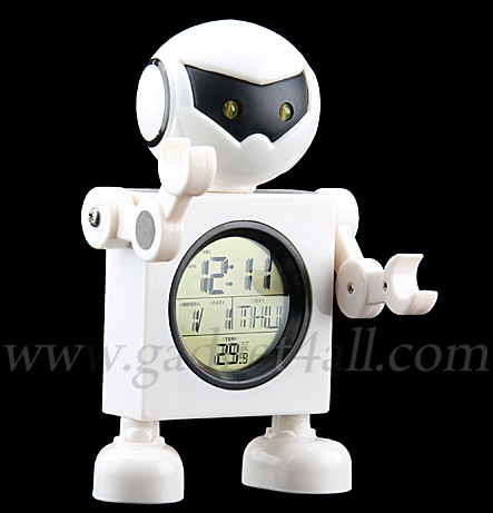 4 in 1 Robot Alarm Clock
