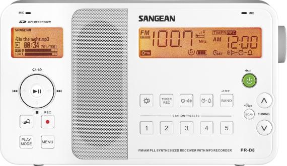 Sangean PR-D8 Portable Digital AM/FM Stereo Receiver