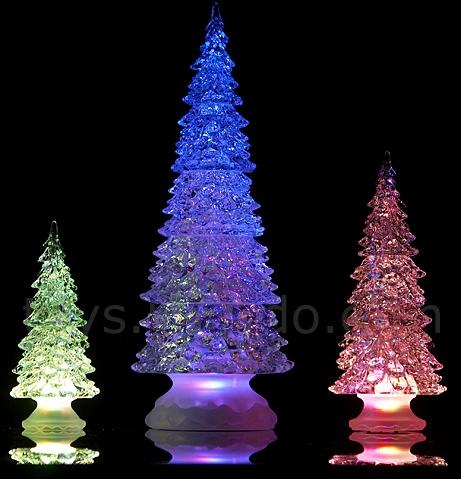 Crystal LEDs Christmas Tree