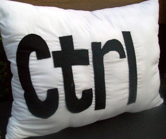 Ctrl Freak Pillow