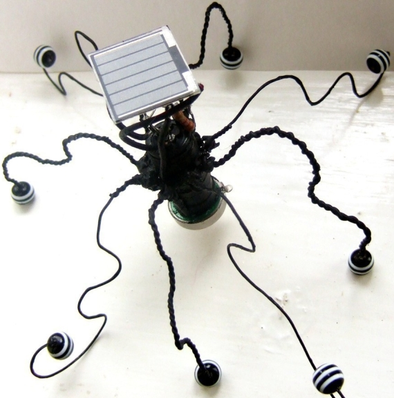 Cthulhu the solar powered emo robot