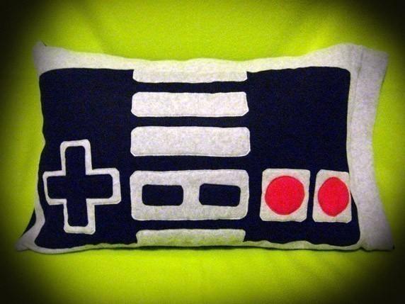 Nintendo Controller Pillow