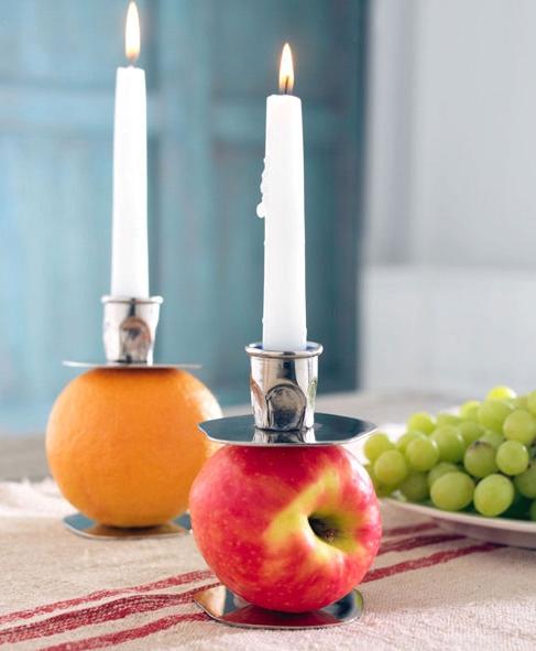 Fruit Converter Candleholder