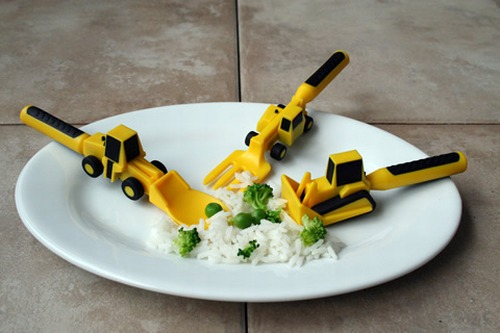 Constructive Eating Kids' Utensils