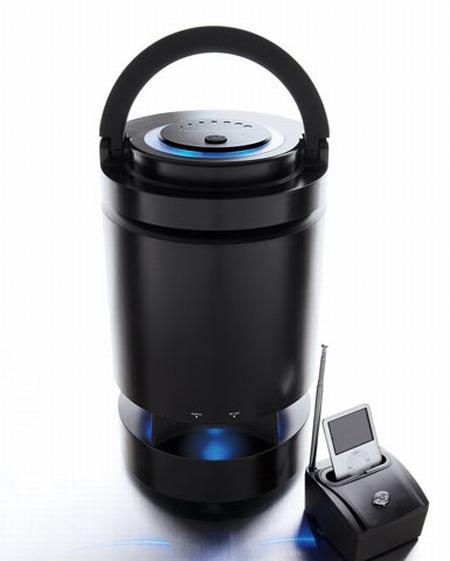 Indoor/Outdoor Wireless Transmitter & Speaker