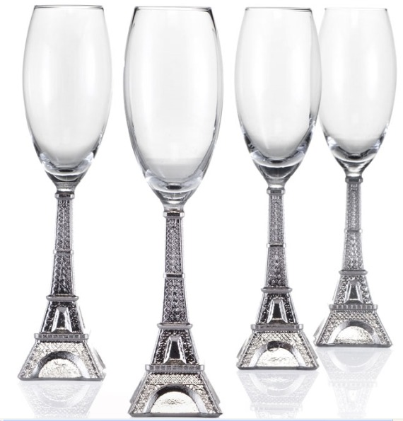 Eiffel Tower Flutes