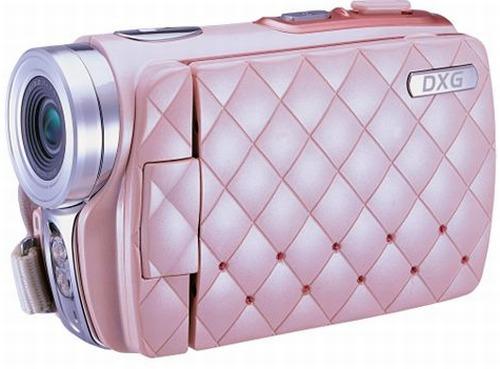 Pink Digital Camcorder