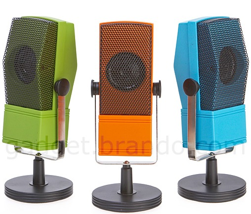 The Grand Microphone Radio with Stand