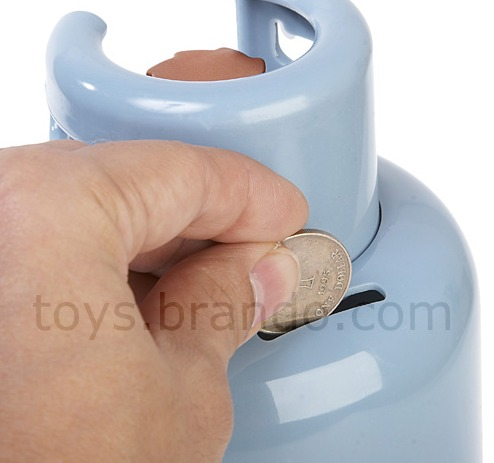 Gas Vessel Coin Bank