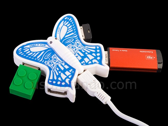 USB Butterfly 4-Port Hub