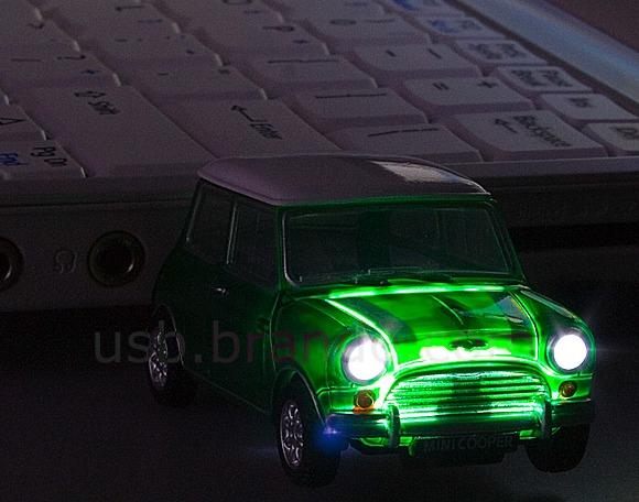 USB Mini Cooper Flash Drive