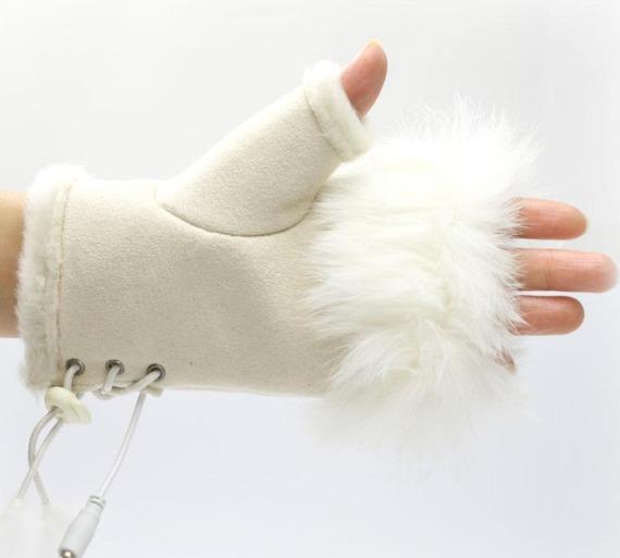 USB Warm Gloves II for girls