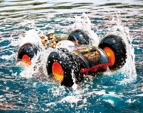 G-Bound RC Car Drives On Water