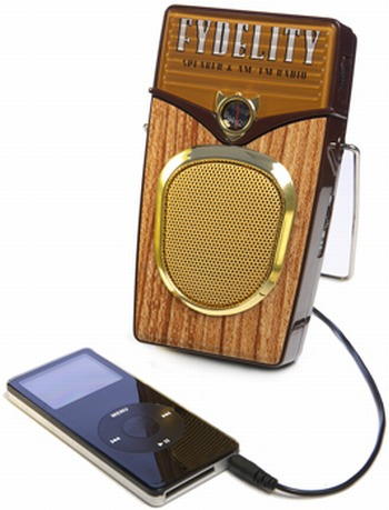 woody MP3 speaker & radio