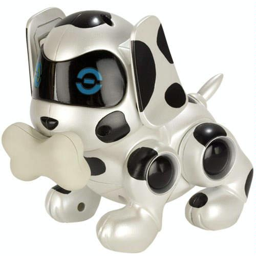 Newborns Puppy in Dots and Silver