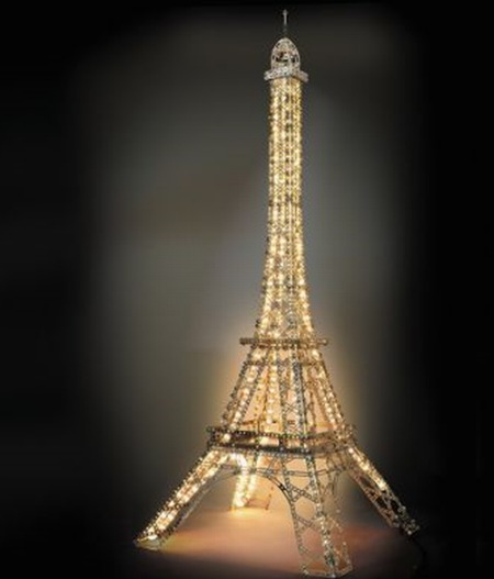 The Five Foot Illuminated Eiffel Tower Kit