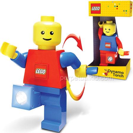 LEGO LED DYNAMO RECHARGABLE FLASHLIGHT
