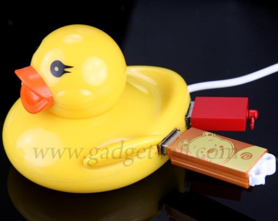4-port Duckling USB Hub