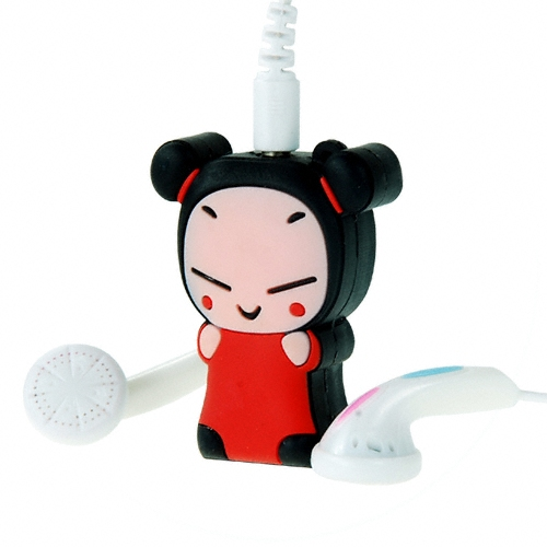 Cute Asian Girl MP3 Player