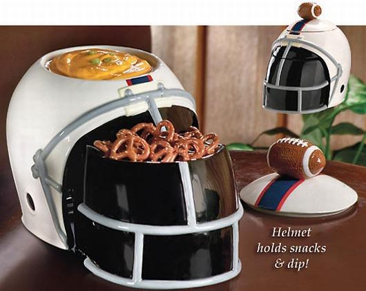Football Helmet Snack Server