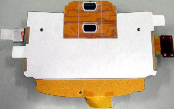 QTC based Navikey sensor
