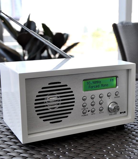 FM Radio with Alarm Clock Function