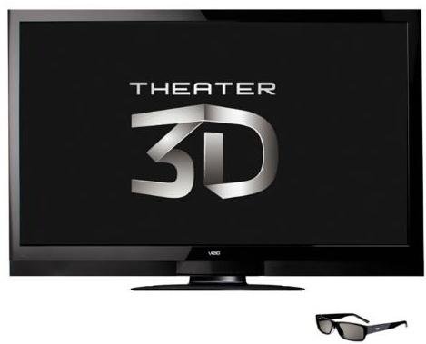 VIZIO Announces Full Line of Theater 3D