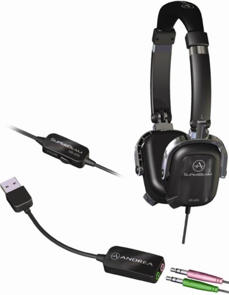 SuperBeam Computer Headsets