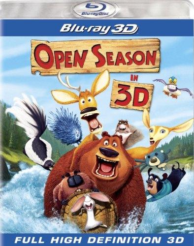 Open Season 3 3D blu ray