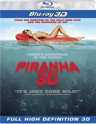 piranha 3d bluray