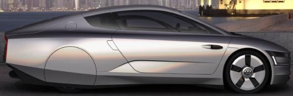 Volkswagen New XL1 Plug-In Hybrid