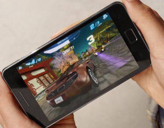 Samsung Galaxy S II games