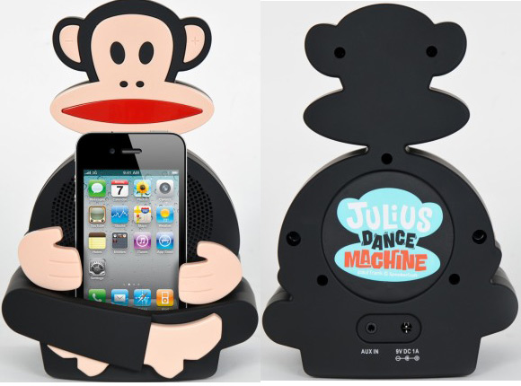 Portable Speaker Dock for iPod