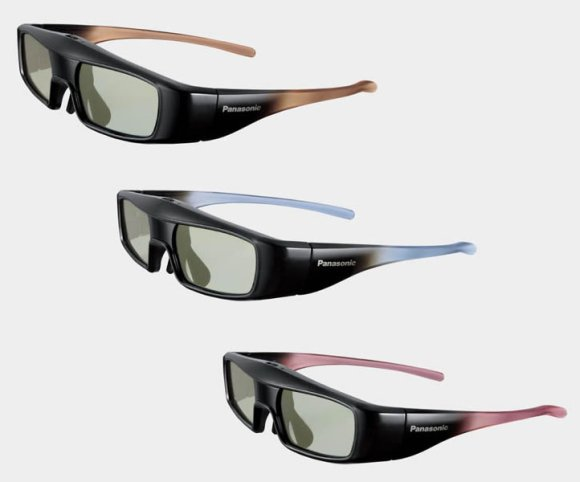 Panasonic EW3D3 Series of 3D glasses are the world's lightest at 26g only