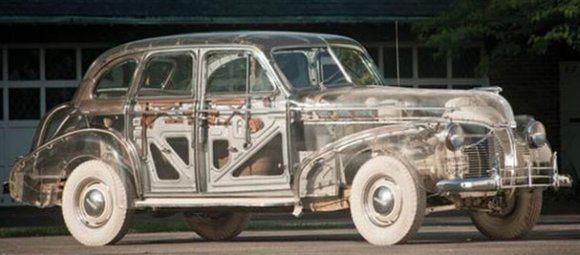 ghost pontiac transparent car