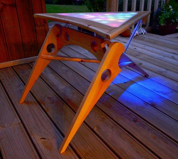 LED Klingon Coffee Table