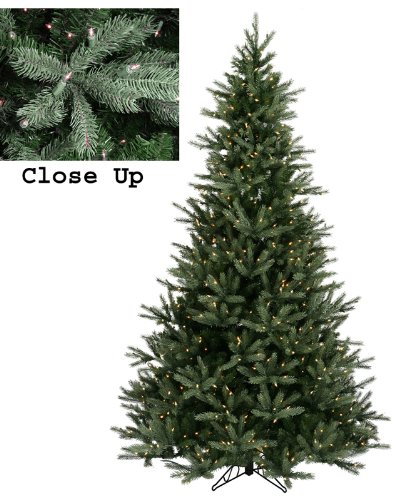 7.5' Pre-Lit Natural Frasier Fir Artificial Christmas Tree - Clear Lights by Vickerman