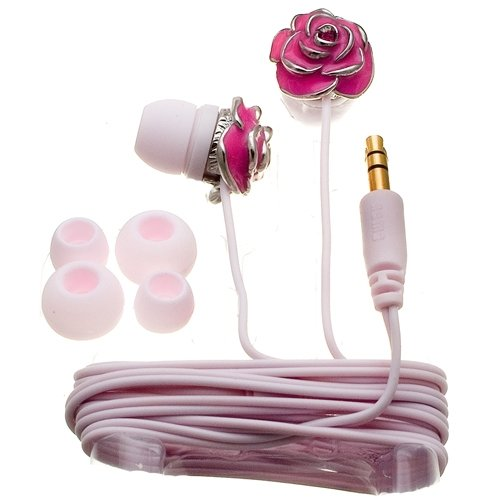 Pink  earbud