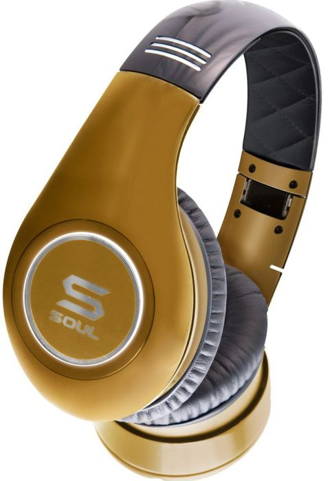 Ludacris SL300GG High Definition Noise Canceling Headphones (Gold)