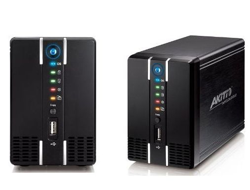 AkiTio MyCloud Duo Personal / Small Business 2Bay Network Attach Storage