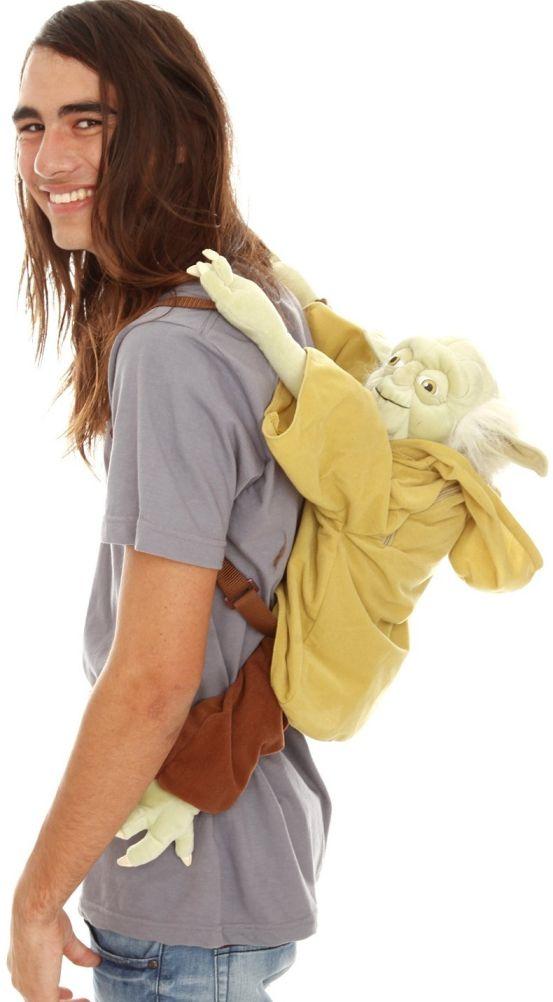 Star Wars Yoda Plush Backpack