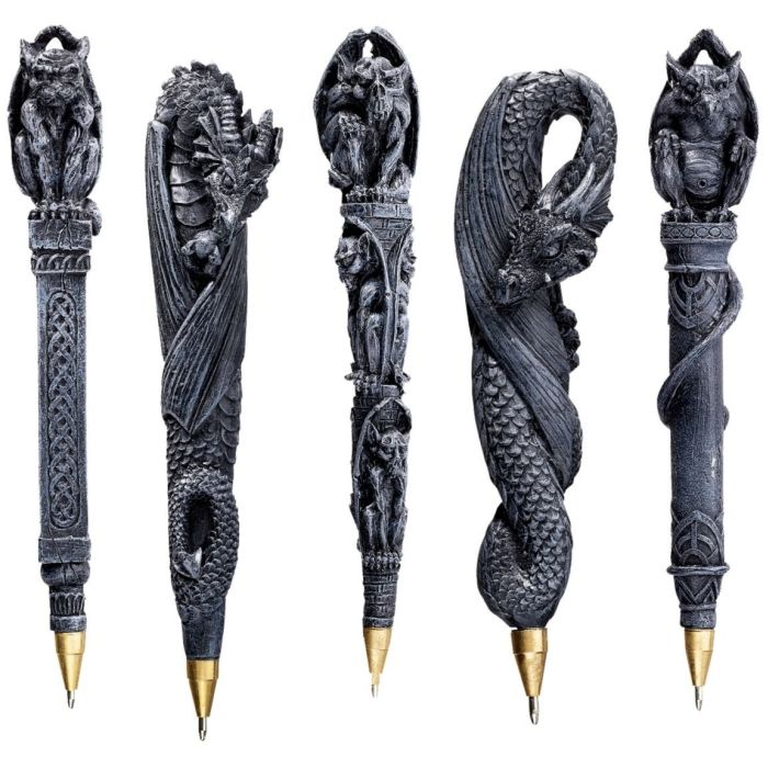 Gargoyles and Dragons Sculptural Pen
