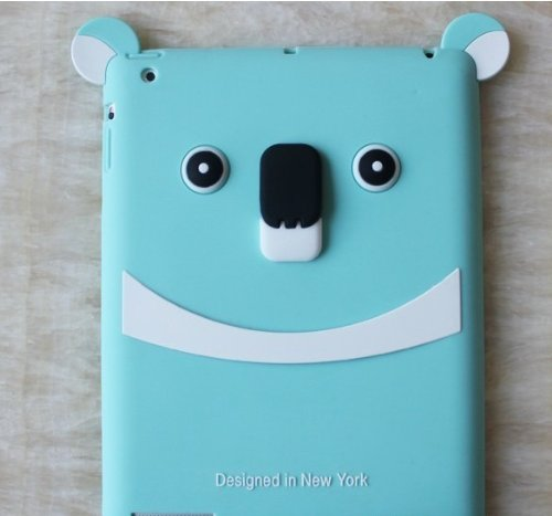 Koala Bear Silicon Cover Case for Apple Ipad2