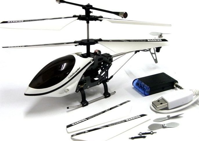 iPhone/iPad/iTouch RC Controlled 3CH i-helicopter