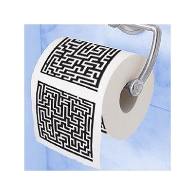 Maze Toilet Paper